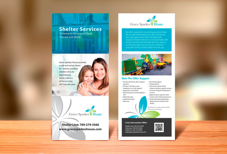 Newfoundland rack card graphic design services