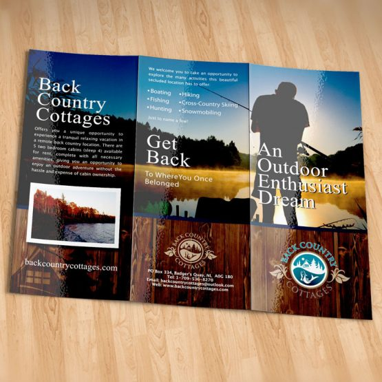 tourism brochure design newfoundland