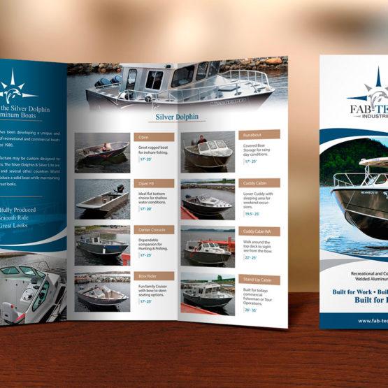 NL brochure design portfolio