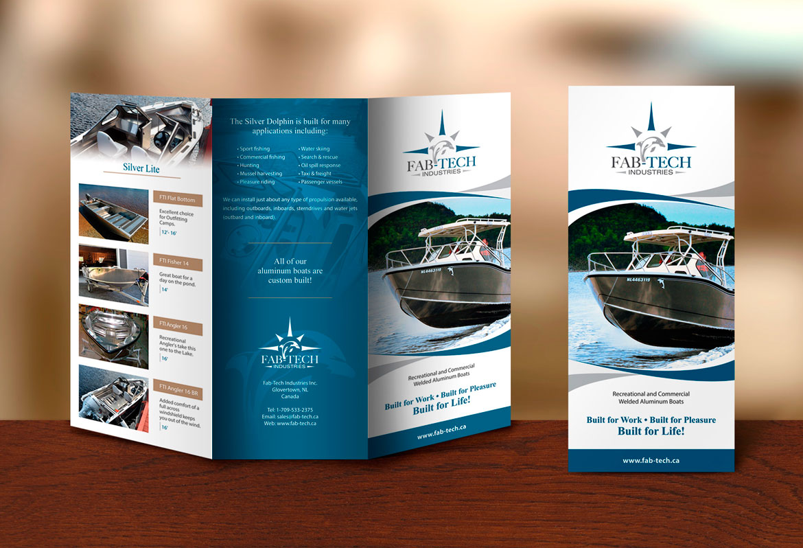 Brochure design NL