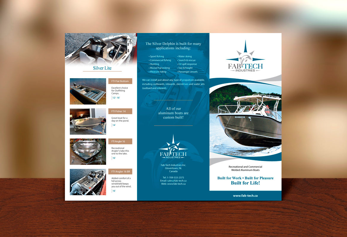 Brochure design samples Newfoundland