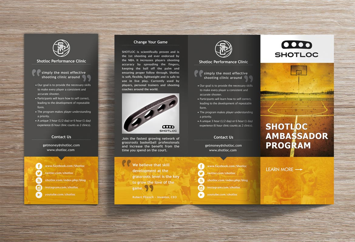 Brochure Design portfolio samples NL
