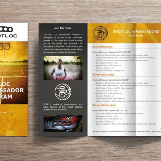 Sports Brochure Design Newfoundland
