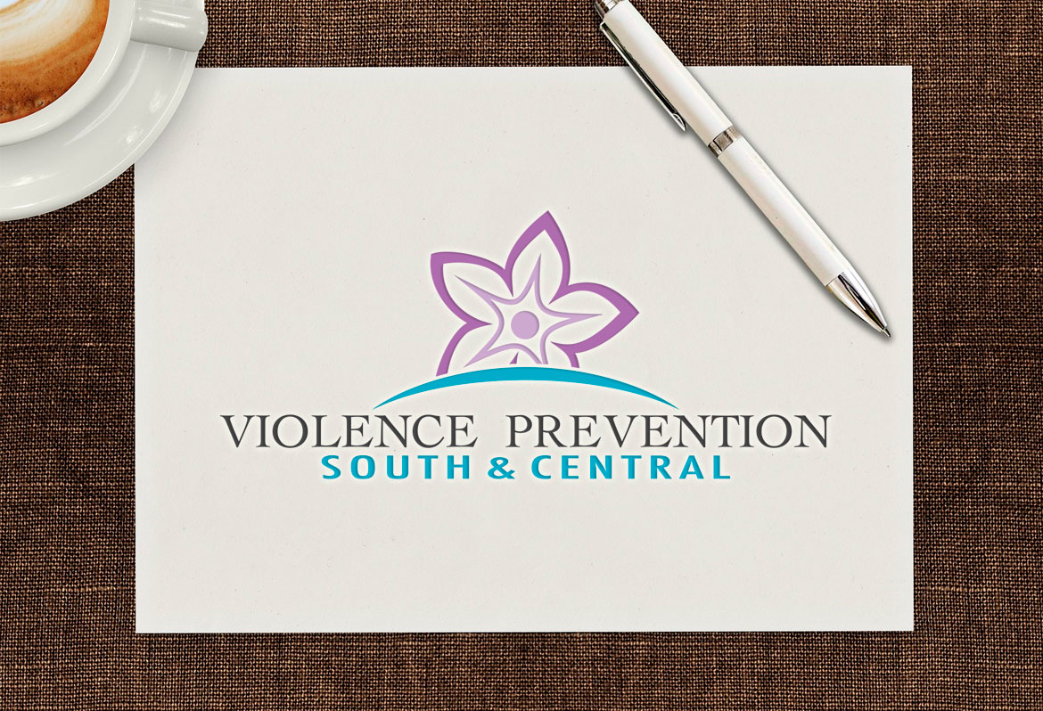 violence prevention logo design nl