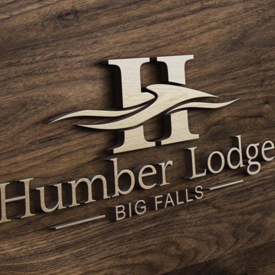 fishing lodge logo design Newfoundland