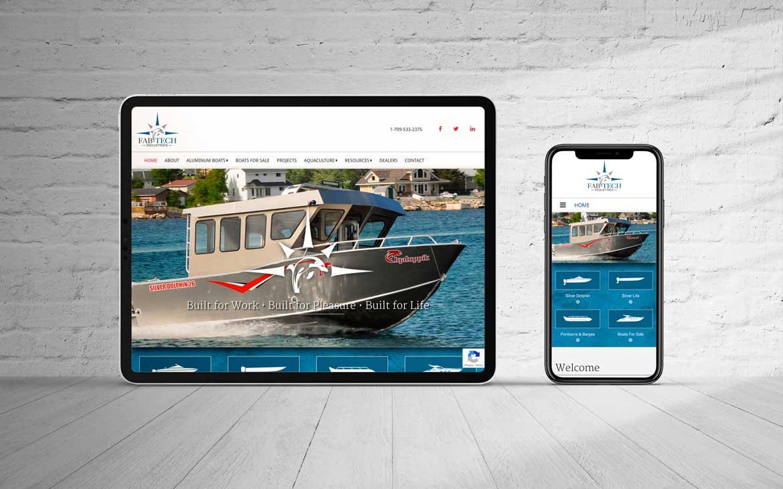 website design Newfoundland NL web design portfolio