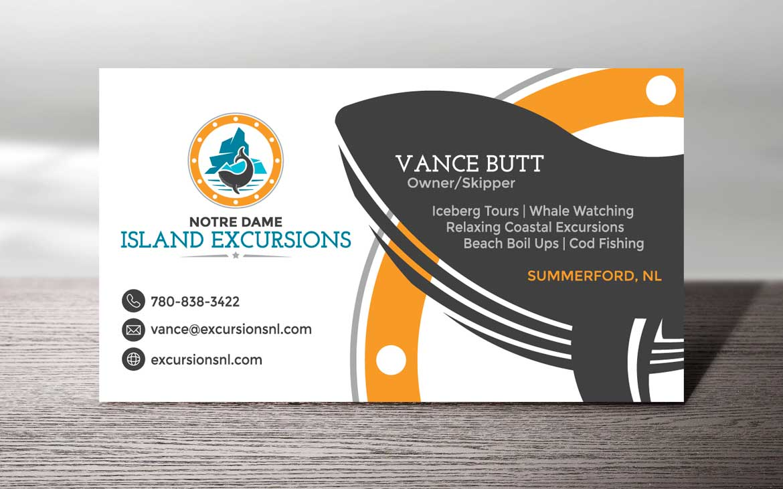 Newfoundland graphic design NL business card design portfolio