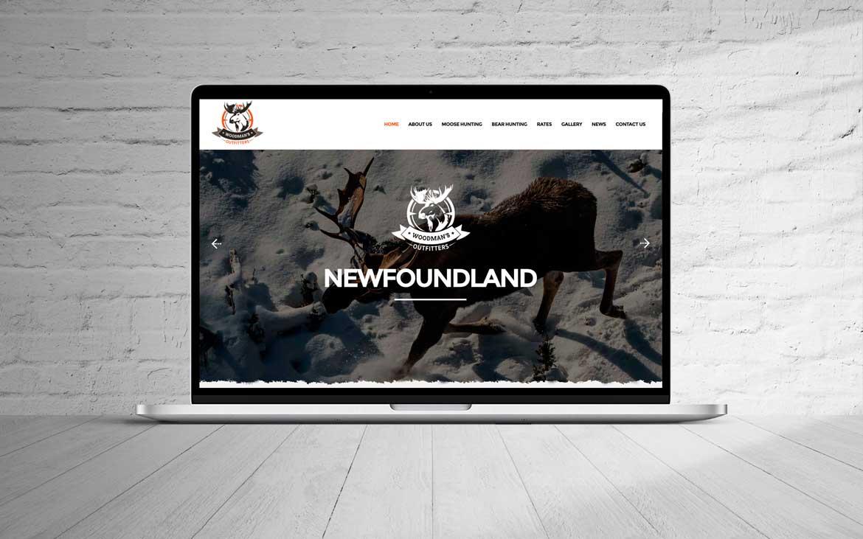 NL website design Newfoundland web designer portfolio