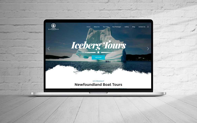 Newfoundland web design NL website design portfolio